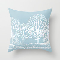 Wedgewood Throw Pillow by Color and Form