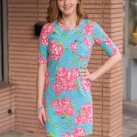 Simply Southern Roses and Pearl Dress