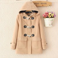 Large size women's winter thickening of the new wool [9133914700]