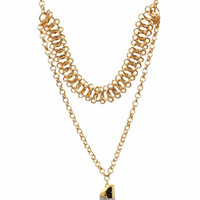 Crystal Layer Necklace