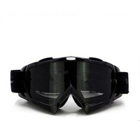 Adult Colourful double Lens Snow Ski Snowboard Goggles Motocross Anti-Fog Fashion Eye Protection Black Tea