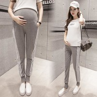 Maternity Clothes Exclusive Women Pants With Sport Design Pregnant Maternity Pants