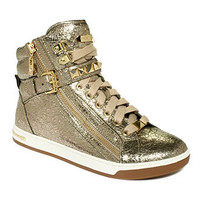 MICHAEL Michael Kors Shoes, Glam Studded High Top Sneakers - Shoes - Macy's