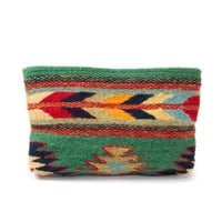 MZ Sun + Sea Fair Trade Wool Clutch