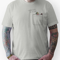 Marcel the Shell and his pretend dog Unisex T-Shirt