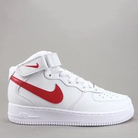 Trendsetter Nike Air Force 1 Low 07  Women Men Fashion Casual Old Skool High-Top Shoes