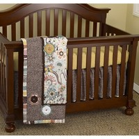 Cotton Tale Penny Lane 3-pc. Crib Bedding Set