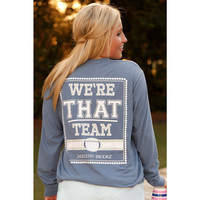 Jadelynn Brooke We're THAT Team Long Sleeve Tee