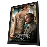 The Great Gatsby 3D 27x40 Framed Movie Poster (2013)