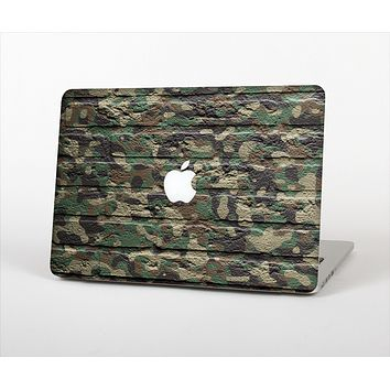 The Vibrant Brick Camouflage Wall Skin Set for the Apple MacBook Air 11""