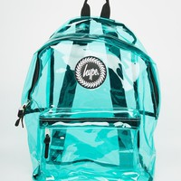 Hype Backpack in Green Perspex
