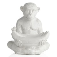Monkey With Banana Bowl | Objects-of-art | Decorative-accessories | Accessories | Decor | Z Gallerie