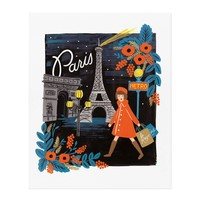 Travel Paris Art Print by RIFLE PAPER Co. | Made in USA