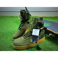 Nike Special Forces Air Force 1 SF AF1 Boots Army Green Shoes Men Sneaker