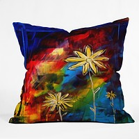 Madart Inc. Visual Feast Throw Pillow