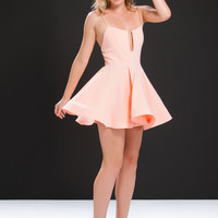 Flare Enough Cut-Out Skater Dress GoJane.com
