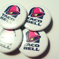Taco Bell Pinback Button