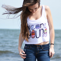 We Are Young Crop Top
