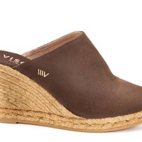Estreta Canvas Clogs - Brown
