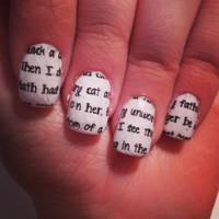 Romeo & Juliet Quotes by PaipurNails on Etsy
