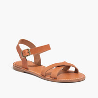 THE SIGHTSEER CRISSCROSS SANDAL