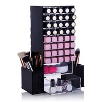 Cosmetic Rotating Tower For 80 Lipsticks Lip Glosses