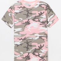 Rothco Pink and White Camouflage T-Shirt at PacSun.com