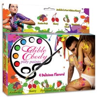 Edible Body Play Paints