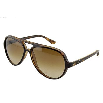 Ray-Ban RB4125 Cats 5000 Oversized Sunglasses