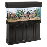 Cabinet Stand Pine 36 x 28 Inch High Black