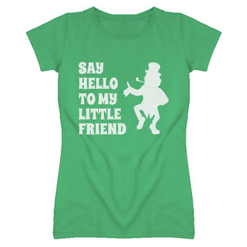 Youth Fitted Say Hello To My Little Friend T-Shirt