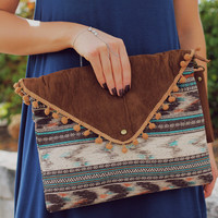Sahara Sands Clutch