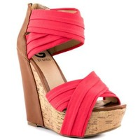 G by Guess Embarka - Dark Red Fabric