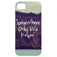 Somewhere iPhone 5 Case from Zazzle.com