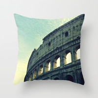 Colosseum. Throw Pillow by Haroulita!! | Society6