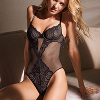 Lace-up Teddy - Very Sexy - Victoria's Secret