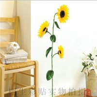 DIY removeable decor flower Wall Sticker Decals