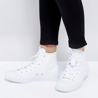 Converse Chuck Taylor All Star Hi Leather Sneakers at asos.com