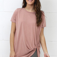 Get Twisted Comfy Short Sleeve Basic {L. Brick}