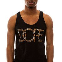DOPE Tank Top Classic Logo in Black and Snake