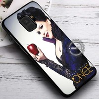 Evil Queen Once Upon A Time Regina iPhone X 8 7 Plus 6s Cases Samsung Galaxy S9 S8 Plus S7 edge NOTE 8 Covers #SamsungS9 #iphoneX