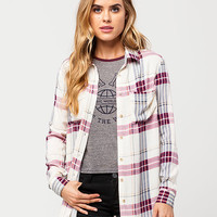 FULL TILT Boyfriend Womens Plaid Shirt | Shirts & Flannels