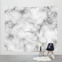 Marble Art V3 Wall Tapestry by 83oranges.com | Society6