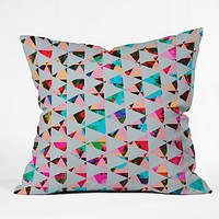 Caleb Troy Indie Mute Outdoor Throw Pillow