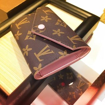 Ladies Wallet Leather Purse [415639175204]