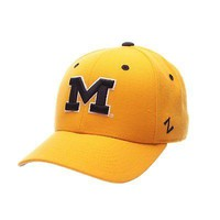 Licensed Michigan Wolverines Official NCAA DH Size 7 1/4 Fitted Hat Cap by Zephyr 110744 KO_19_1