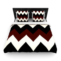 """Catherine McDonald """"Oxfords and Button Ups"""" Woven Duvet Cover"""