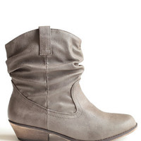 Going West Boots - $42.00: ThreadSence, Women's Indie & Bohemian Clothing, Dresses, & Accessories