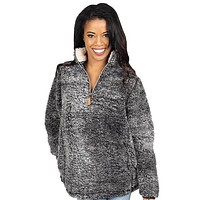 Sherpa Dark Grey - Pullover - F19 - Simply Southern