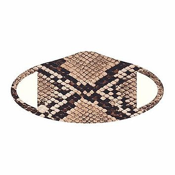 Snake Fabric Face Mask (Pre-Order)